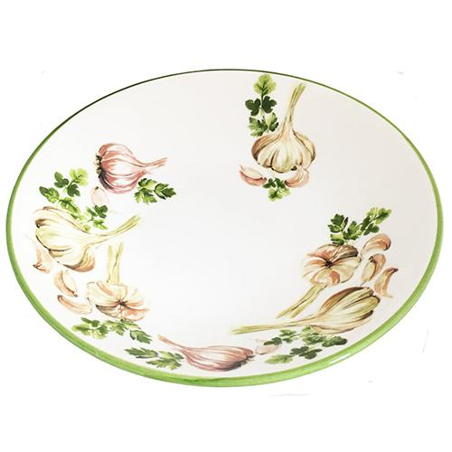 "Garlic & Herb Pasta Bowl, 8.5"", Set of 6 by Abbiamo Tutto"