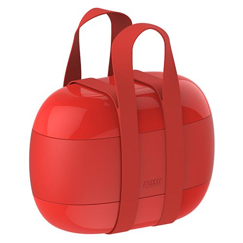 Food à Porter Three-Compartment Lunch Box by Sakura Adachi for Alessi