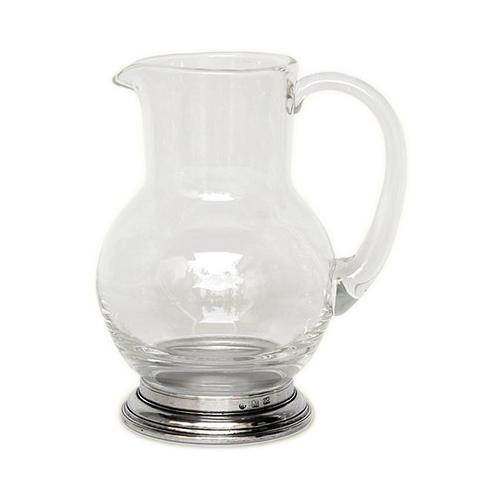 Lead-Free Glass Pitcher by Match Pewter