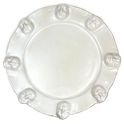 "Viso Faces Gold 16.25"" Platter by Michael Wainwright"