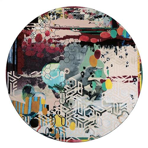 "Grand Tour Tomette  98"" Round Rug by Christian Lacroix"