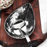 Valencia Hammered Gravy Ladle 4 Piece Set by Mary Jurek Design