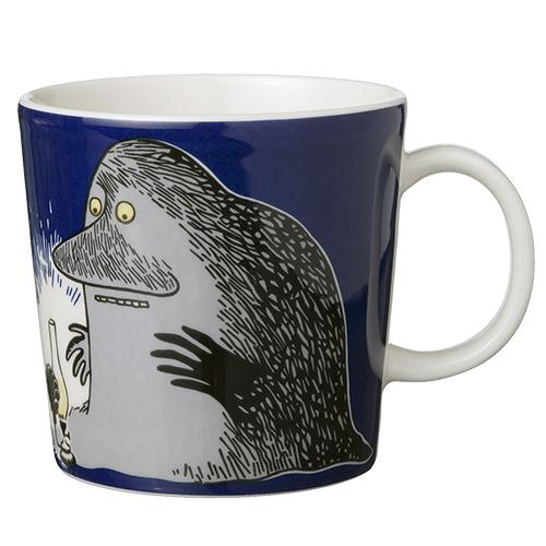 The Groke Moomin Mug by Arabia
