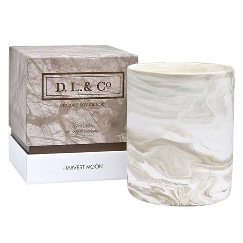 Marbled Collection: Harvest Moon Candle by DL & Company
