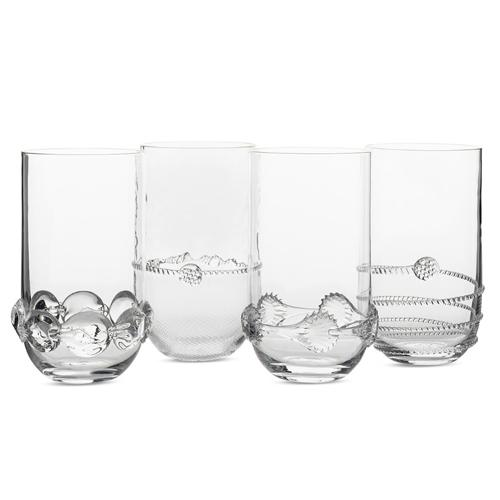 Heritage Collectors Set of 4 Highballs by Juliska