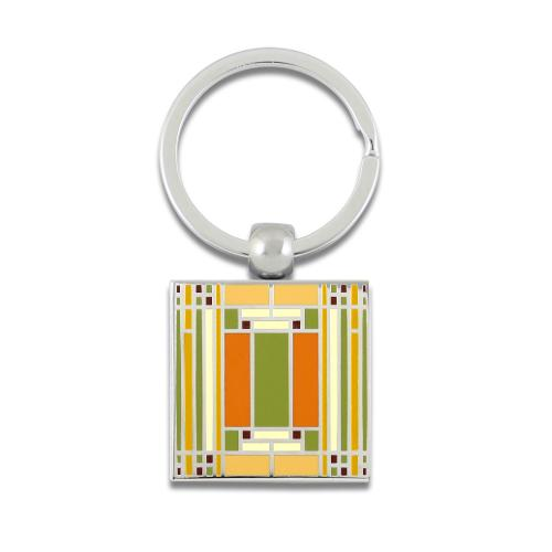 Home & Studio Key Ring by Frank Lloyd Wright for Acme Studio