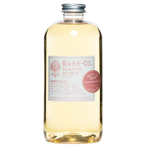 Barr-Co. Honeysuckle Natural Vegetable Hand Soap Refill