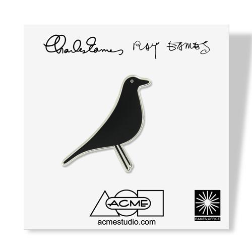 House Bird Pin by Charles & Ray Eames for Acme Studio