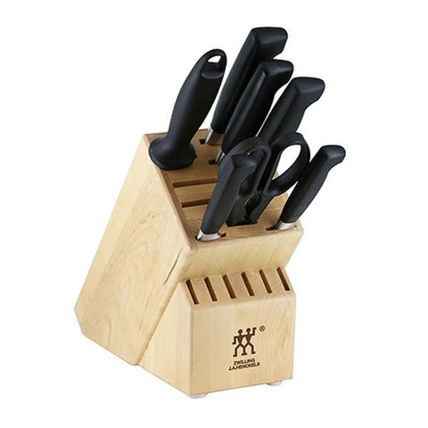 4 Star Twin Zwilling J.A. Henckels 8 Piece Knife Block Set