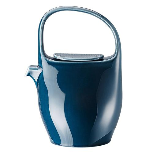 Junto Teapot, Blue for Rosenthal