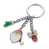 Santa Claus Key Ring by Troika of Germany