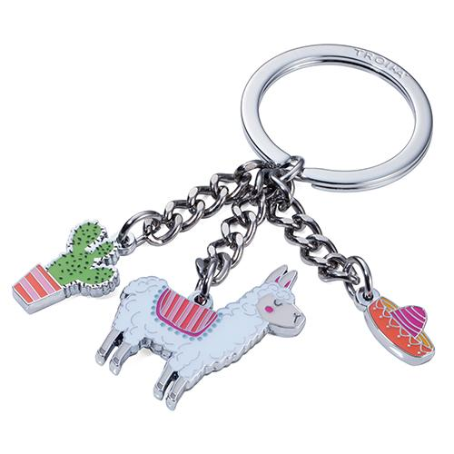 Llama Key Ring by Troika of Germany