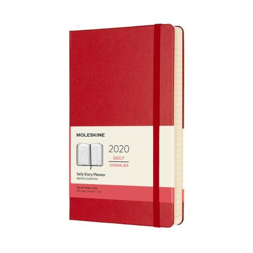 2020 Daily Notebook Planner by Moleskine