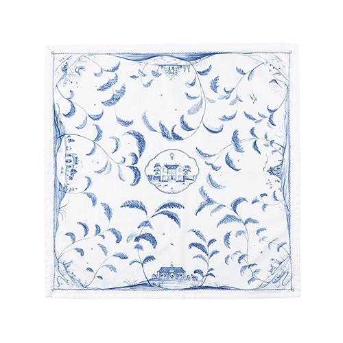 Country Estate Delft Blue Cotton Napkin, Set of 4 by Juliska