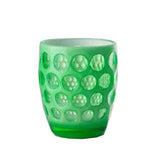 Lente Synthetic Crystal Glass Fluo Green  by Mario Luca Giusti