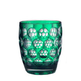Lente Synthetic Crystal Glass Green by Mario Luca Giusti
