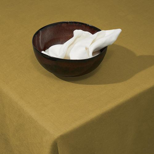 Linen Sateen Tablecloth by L'Objet