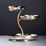 Deco Leaves 3-Tier Server by L'Objet