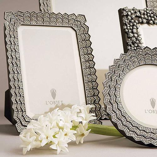 Deco Noir Photo Frame by L'Objet
