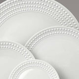 Perlee White Soup Plate by L'Objet