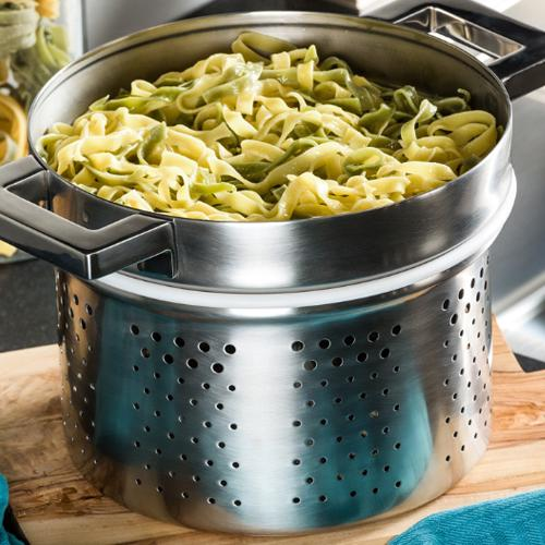 Stile Insert for Pasta by Pininfarina and Mepra