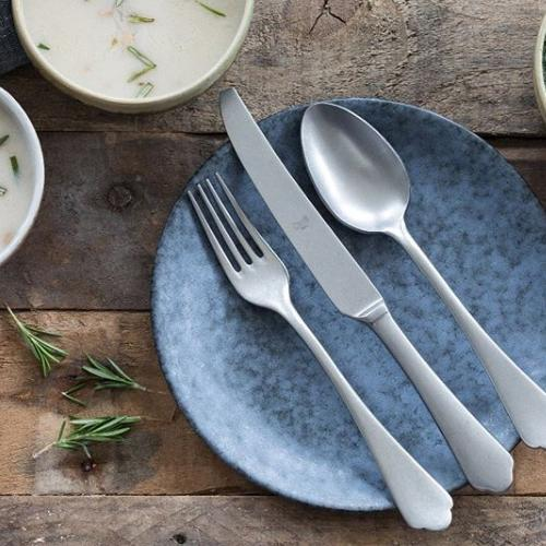 Dolce Vita Peltro Fish Knife by Mepra