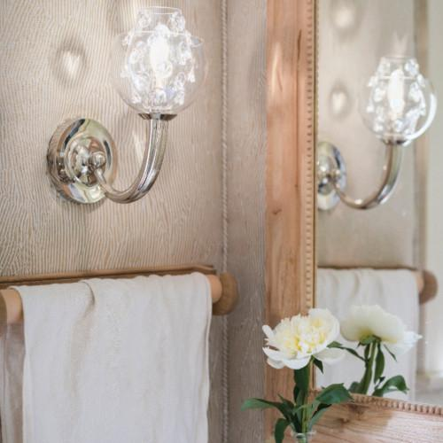 Florence Double Shade on Paris Sconce by Juliska
