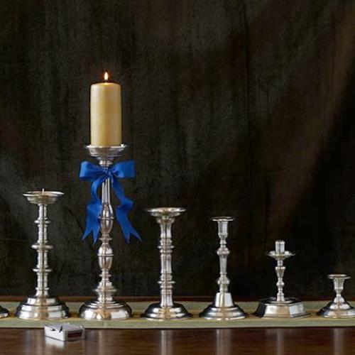 Arno Candlestick by Match Pewter