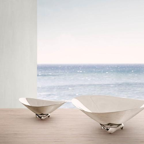 Wave Bowl by Henning Koppel for Georg Jensen