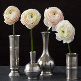 Long Neck Vase by Match Pewter
