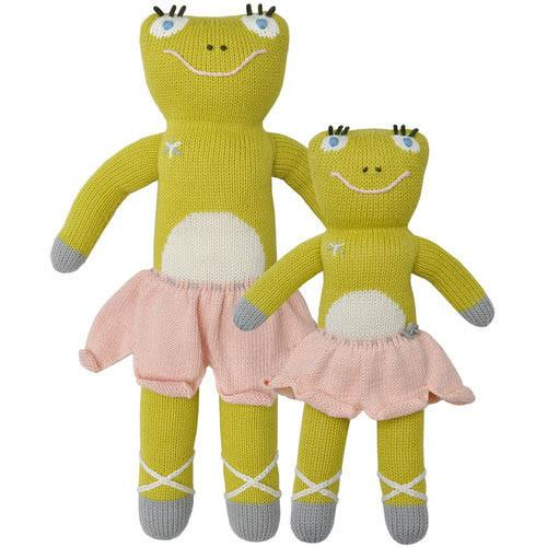 Lillipop the Frog Knit Doll by Blabla