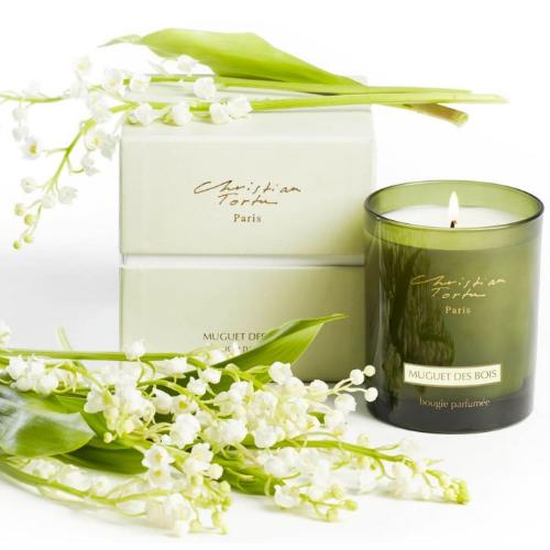 Lily of the Valley Candle by Christian Tortu