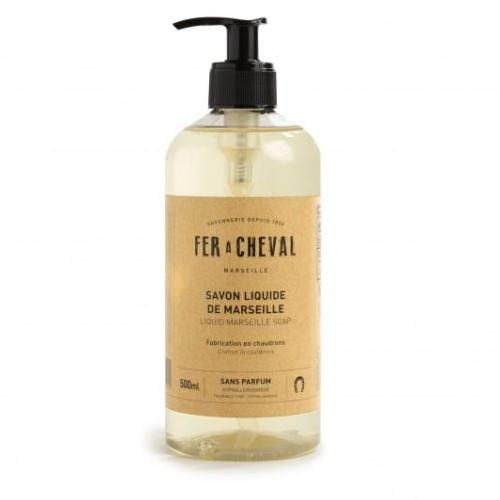 Fer a Cheval Genuine Marseille Liquid Soap, Unscented