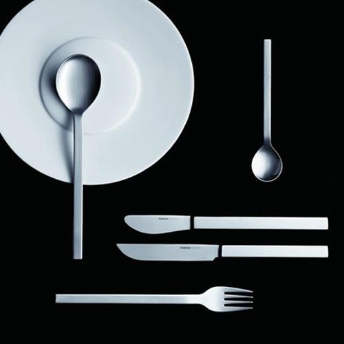 mono-a 5 Piece Placesetting with Long-bladed Knife by Mono Germany