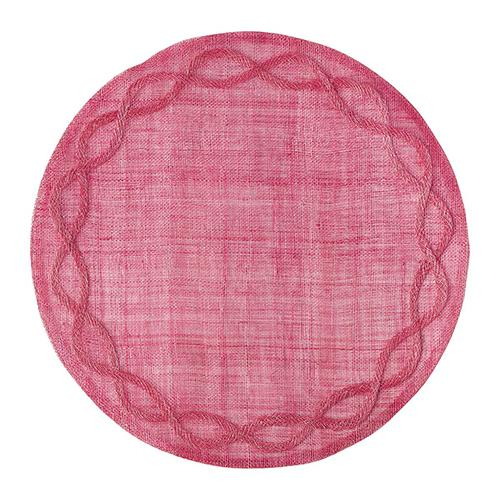 Tuileries Garden Pink Placemat, set of 4 by Juliska