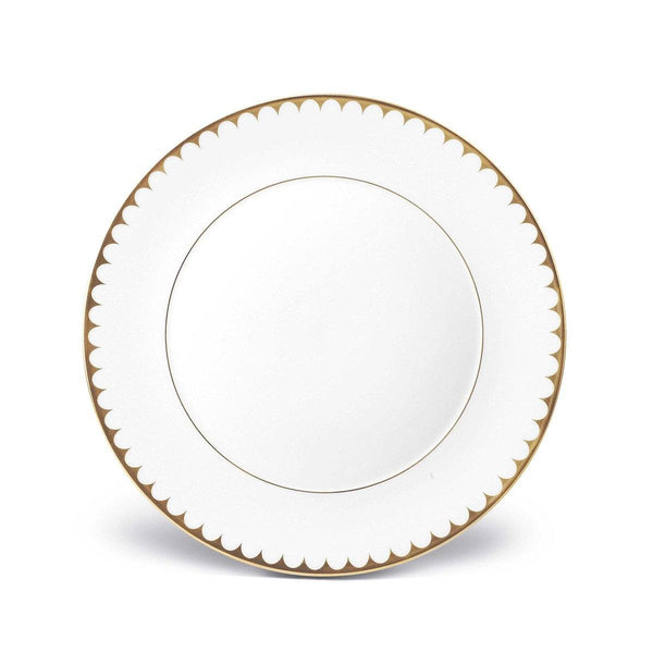 Aegean Filet Gold Dinner Plate by L'Objet