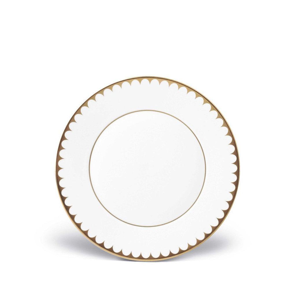 Aegean Filet Gold Dessert Plate by L'Objet