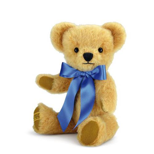 London Curly Gold Teddy Bear by Merrythought UK