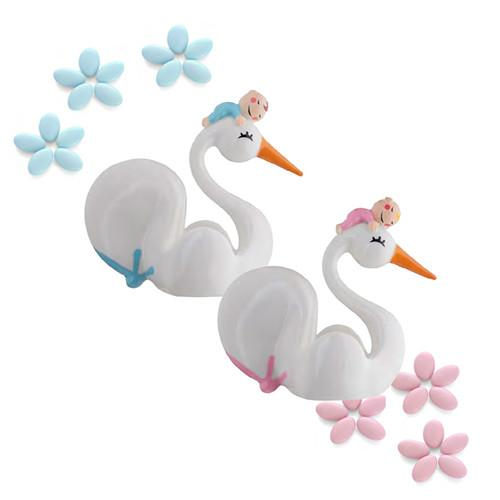 Bimboneria Swan Baby Shower Favor by Alessi (in Love)