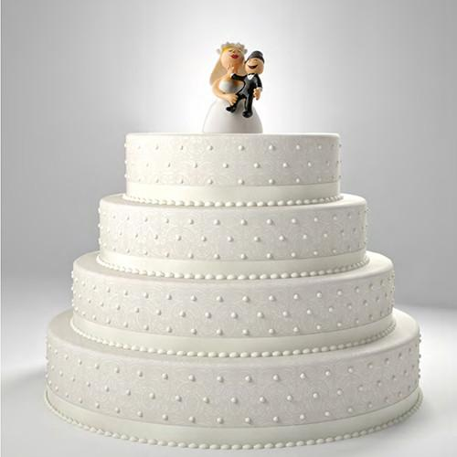 Hug Me, My Love Wedding Cake Topper by Alessi (in Love)