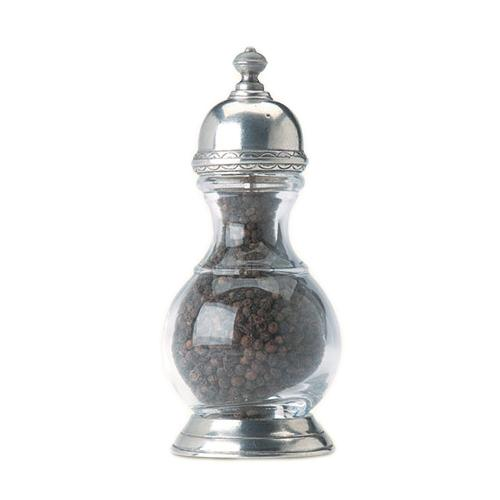 Lucca Salt and Pepper Grinders by Match Pewter