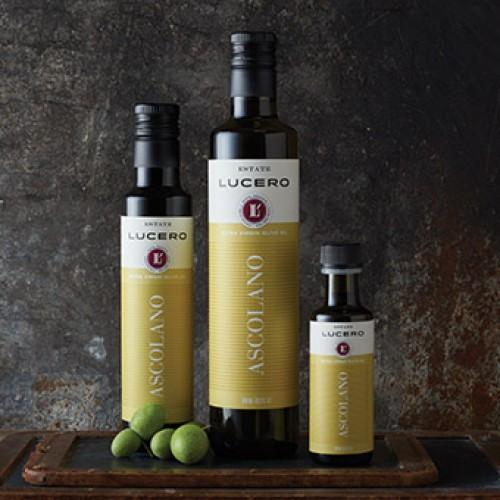 Lucero California Ascolano Single Varietal Extra Virgin Olive Oil