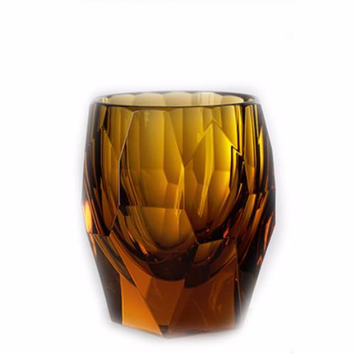 Super Milly Large Acrylic Tumbler Amber 10 oz. by Mario Luca Giusti