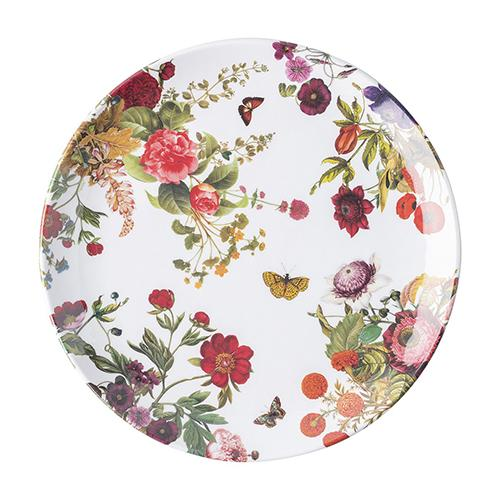 "Field of Flowers 11"" Melamine Dinner Plate by Juliska"