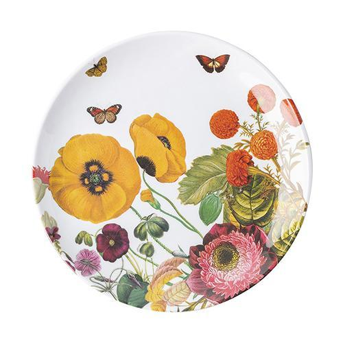 "Field of Flowers 9"" Melamine Dessert or Salad Plate by Juliska"