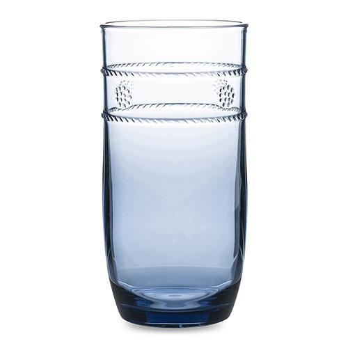 Isabella Blue 18 oz. Acrylic Large Beverage Glass by Juliska