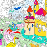 Magic Coloring Poster by OMY Design & Play