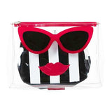 Marilyn Toiletry & Make-up Bag Set by Emma Lomax London