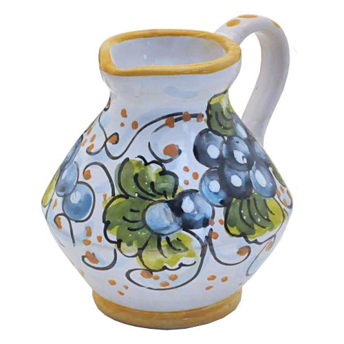"Grape Mini Pitcher, 3"", 2.75 oz. by Abbiamo Tutto"