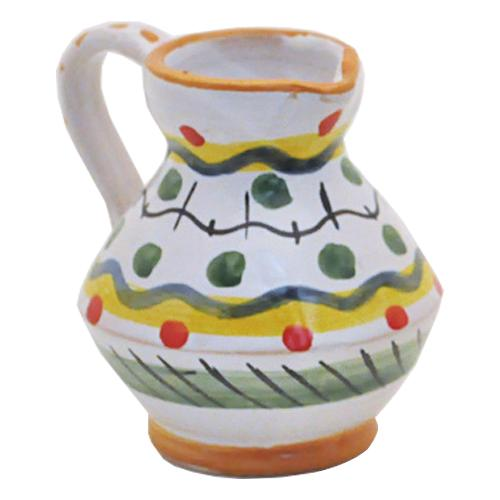 "Festive Dots Mini Pitcher, 3"", 2.75 oz. by Abbiamo Tutto"